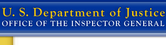 U.S. Department of Justice, Office of the Inspector General