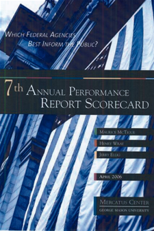 Cover to the 7th Annual Performance Report Scorecard