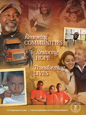 Renewing Communities, Restoring Hope, and Transforming Lives publication cover