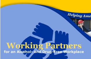 Working Partners for an Alcohol- and Drug-Free Workplace Logo