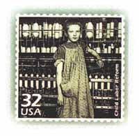 Child Labor Reform Stamp