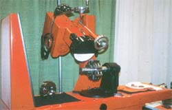Modern saw blade sharpener
