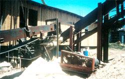 Excessive buildup of sawdust