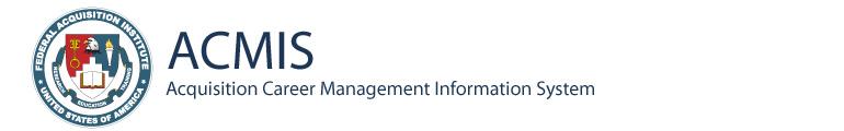 ACMIS: Acquisition Career Management Information System
