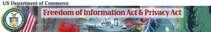 Freedom of Information Act & Privacy Act, U.S. Department of Commerce