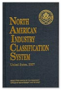 scanned image of the 2007 NAICS Manual cover