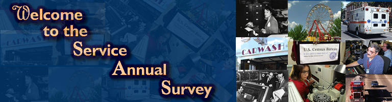 Welcome to the Service Annual Survey