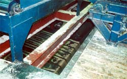 Unguarded chute floor opening in sawmill #1