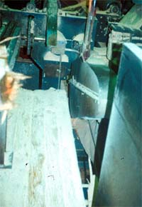 Unguarded chute floor opening in sawmill #2