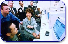 Secretary of Labor Elaine L. Chao at Treasure Island Job Corps.