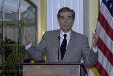 Gutierrez at podium.