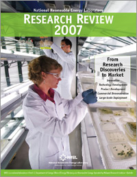 Image of the 2007 Research Review Cover.