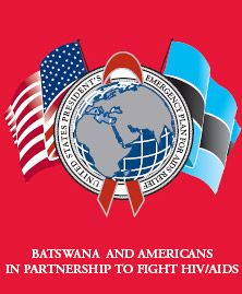 Botswana PEPFAR Logo