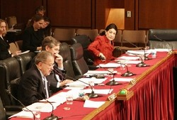 Photo of the U.S. Senate Committe on Commerce, Science, and Transportation.