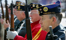 Photo of veterans