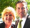 Dana Schaffer and Grant Seiffert