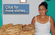El Salvador - Loans enabled this small businessowner to increase sales and establish a permanent location   ...  Click for more stories...