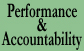 text graphic for Performance & Accountability