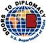 Doors to Diplomacy logo.