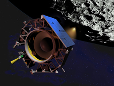 The Mission Objectives of the Lunar Crater Observation and Sensing Satellite (LCROSS) include confirming the presence or absence of water ice in a permanently shadowed crater at the Moon?s South Pole.