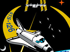 STS-126 shuttle mission