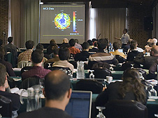More than 150 international scientists gathered in Williamsburg hear the latest Mars atmosphere research