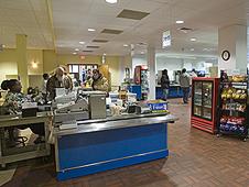 NASA Langley cafeteria.