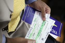 Airline boarding pass. (Photo TSA)