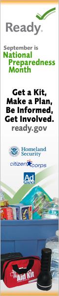 National Preparedness Month 2008 Banner