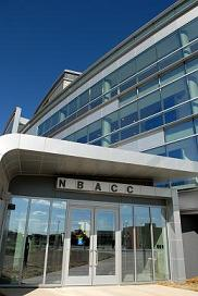 Close up photo of NBACC facility