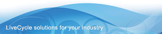 LiveCycle solutions for your industry