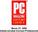 PC Magazine Editor's Choice 2008