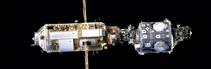 First construction mission to the International Space Station