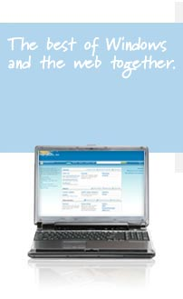 The best of Windows and the web together.