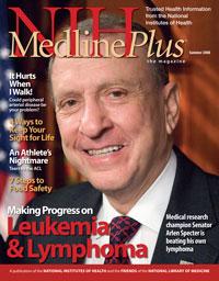 Cover of the Summer 2008 MedlinePlus Magazine