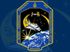 STS 126 mission patch and logo