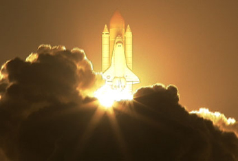 Image of STS-126 launch.