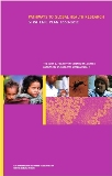 Cover of 2008-2012 Fogarty Strategic Plan with purple background