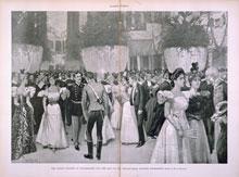 Inaugural ball for William McKinley, March 4, 1897 (U.S. Senate Collection)