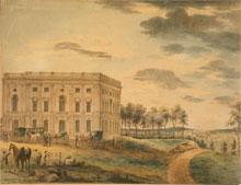 U.S. Capitol, ca. 1801, completed north wing (U.S. Capitol)