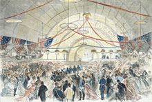 The Inauguration Ball--Arrival of the President's Party (U.S. Senate Collection)