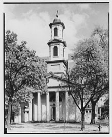 St. John's Church at 16th and H St., NW, Washington, D.C., ca. 1920-1950 (Library of Congress, Theodor Harydczak Collection)