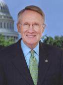 official photo of Senate Majority Leader Harry Reid