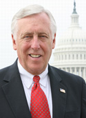 official photo of U.S. House Majority Leader Steny Hoyer