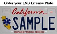 EMS License Plate Mockup