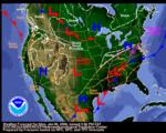 Archive of daily weather forecast maps - Jan 3, 2001 to Present