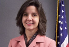 Photo of Juliana Blackwell, the new director of NOAA's National Geodetic Survey.