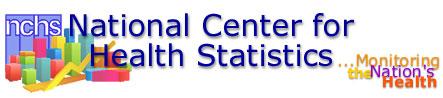 National Center for Health Statistics graphic header