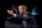 President George W. Bush speaks at the North Carolina Welcome in Charlotte, N.C., Thursday, Oct. 24.