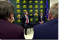 President Bush Speaks at North Dakota State University